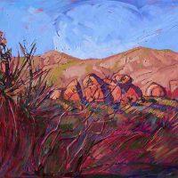 Erin Hanson, Joshua Summer, Oil on canvas, Overall: 48 × 36in. (121.9 × 91.4cm), Courtesy of the artist, San Diego, California