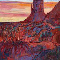 Erin Hanson, Pale Horizon, Overall: 30 × 40in. (76.2 × 101.6cm), Courtesy of the artist, San Diego, California
