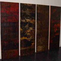 Polyptique, 72 7/16 x 24 7/16 in.  (184 x 62 cm) each