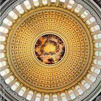 Andrew Prokos, U.S.Capitol Rotunda Interior, Overall: 34 1/2 × 27 1/2in. (87.6 × 69.9cm), Courtesy of the artist, New York, NY