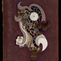 Jenny Abell, Book Cover No. 128, Mixed media, Overall: 11 x 8 1/2in. (27.9 x 21.6cm)