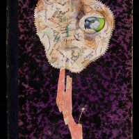 Jenny Abell, Book Cover No. 132, Mixed media, Overall: 11 1/2 x 7 1/2in. (29.2 x 19.1cm)