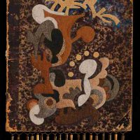 Jenny Abell, Book Cover No. 134, Mixed media, Overall: 11 3/4 x 9in. (29.8 x 22.9cm)