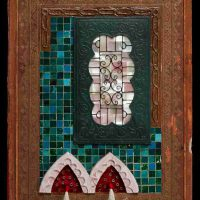 Jenny Abell, Book Cover No. 135, Mixed media, Overall: 12 x 9in. (30.5 x 22.9cm)