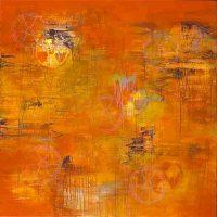 Nalyne Lunati, SPF 1000, Overall: 48 x 48 in. (121.9 x 121.9cm), Courtesy of the artist, Pleasanton, California