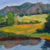Diane Tripp, South Boulder Creek Trail 3, Pastel, Overall: 9 x 12in. (22.9 x 30.5cm), Courtesy of the artist and Artwork Network, Denver, Colorado