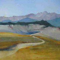 Gia Hamilton, At Altitude, Overall: 14 x 18in. (35.6 x 45.7cm), Courtesy of the artist and Artwork Network, Denver, Colorado