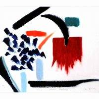 Ce Roser, Boxed Lightning, Archival inkjet print, Overall: 14 1/4 x 17 1/4in. (36.2 x 43.8cm), Collection of Art in Embassies, Washington, D.C.; Gift of American Abstract Artists, New York, New York