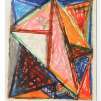 Thornton Willis, Untitled, Overall: 17 1/4 x 14 1/4in. (43.8 x 36.2cm), Collection of Art in Embassies, Washington, D.C.; Gift of American Abstract Artists, New York, New York