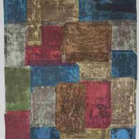 Samuel Levi Jones, Amalgamation, Paper size: 39 × 31 1/2in. (99.1 × 80cm); approximate $850 framing charges