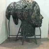 Xavier Mascaro, Eleonora, Overall: 68 1/2 x 61 7/16 x 34 5/8in., 771.6lb. (174 x 156 x 88cm, 350kg), Courtesy of the artist