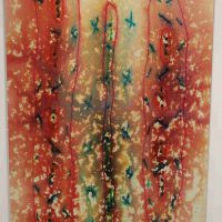 Sibylle Szaggars Redford, Way of the Rain, Overall: 72 x 48in. (182.9 x 121.9cm)