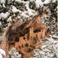 David Muench, Mesa Verde Cliff Dwellings, Overall: 26 x 22in. (66 x 55.9cm), Courtesy of the artist, Santa Barbara, California