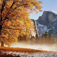 David Muench, Half Dome, Yosemite, Overall: 22 x 26in. (55.9 x 66cm), Courtesy of the artist, Santa Barbara, California