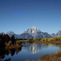 Carol Highsmith, the Grand Tetons, Color photograph from digital negative, Overall: 22 x 26in. (55.9 x 66cm)