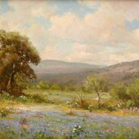 Robert William Wood, Springtime, Oil on canvas, Overall: 29 5/8 x 35 1/2 x 2 1/4in. (75.2 x 90.2 x 5.7cm), Courtesy of the Witte Museum, San Antonio, Texas; Gift of Dr. and Mrs. Asher R. McComb