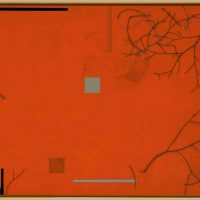 RW Franklin, Wallendas in Flight, Mixed-media on panel, Overall: 36 x 80in. (91.4 x 203.2cm), Courtesy of the artist