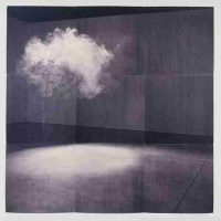 Lorna Simpson, Cloud, Serigraph on felt, Overall: 84 x 84in. (213.4 x 213.4cm)