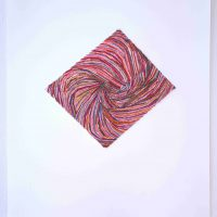 Emily Barletta, Untitled 125, thread and paper, Overall: 21 x 17 x 1in. (53.3 x 43.2 x 2.5cm) Other: 13 3/4 x 12 1/4in. (34.9 x 31.1cm), Courtesy of the artist