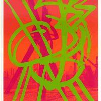 Mark Di Suvero, Untitled, Silkscreen, Overall: 48 x 31 1/2 x 1 1/2 in. (121.9 x 80 x 3.8 cm), Collection of Art in Embassies, Washington, D.C.; Gift of Lincoln Center / Vera List Art Program