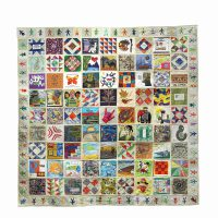 VSA Tennessee, 40 Days Around the World International Quilt, Fabric, Overall: 120 x 84 in. (304.8 x 213.4 cm), Collection of Art in Embassies, Washington, D.C.; Donated by VSA Tennessee, Gallatin, Tennessee