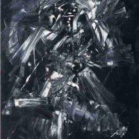 Antonio Saura, Pintura dinámica, Nule, 63 x 53 1/8in. (160 x 135cm), Courtesy of Sidercal Minerales Collection, Asturias, Spain and Edward Tyler Nahem Fine Art, LLC, New York.