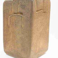 Eduardo Chillida, Lurra G-164, 10 13/16 x 5 7/8 x 6 11/16in. (27.4 x 15 x 17cm), Sidercal Minerales Collection, Asturias, Spain. Courtesy Edward Tyler Nahem Fine Art, LLC, New York.
