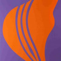 Jack Youngerman, Changes #5, Screenprint, Overall: 49 x 37 x 2 in. (124.5 x 94 x 5.1 cm), Collection of Art in Embassies, Washington, D.C.