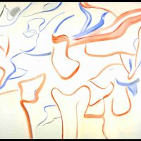 Willem de Kooning, Untitled, Oil on canvas, Overall: 70 x 80 in. (177.8 x 203.2 cm), Courtesy of the Willem de Kooning Foundation, New York, New York