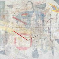 Julie Mehretu, Plovers Wing, Ink and acrylic on canvas, Overall: 120 x 167 1/2in. (304.8 x 425.5cm), Courtesy of the artist, New York, NY