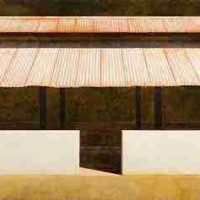 Edward Rice, BBQ Shed, oil on canvas, Overall: 30 x 40in. (76.2 x 101.6cm), Courtesy of the artist, North Augusta, South Carolina