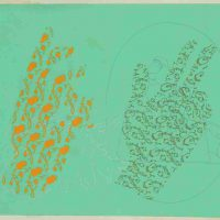 Nusra Latif Qureshi, Sites of Abstraction, Gouache on wasli, Overall: 15 3/4 x 11 1/4in. (40 x 28.6cm)