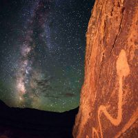 Bret Webster, Serpent Stars, Overall: 45 x 30in. (114.3 x 76.2cm), Courtesy of the artist, Park City, Utah