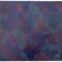 Ken Kalman, Untitled 1985, Oil on paper, Overall: 25 1/4 x 33 x 1 1/4 in. (64.1 x 83.8 x 3.2 cm), Gift of Ken Kalman to Art in Embassies, Washington, D.C.