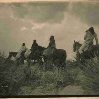 Edward  S. Curtis, Before the Storm, Overall: 18 3/4 x 22 3/4 x 3/4 in. (47.6 x 57.8 x 1.9 cm), Collection of Art in Embassies, Washington, D.C.; Library of Congress Prints and Photographs Division, Edward S. Curtis Collection, cph 3g12012