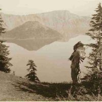 Edward  S. Curtis, The Chief - Klamath, Contemporary digital photograph of a platinum print, Overall: 18 3/4 x 22 3/4 x 3/4 in. (47.6 x 57.8 x 1.9 cm), Collection of Art in Emabssies, Washington, D.C.; Library of Congress Prints and Photographs Division, Edward S. Curtis Collection, cph 3g12467