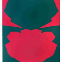 Jack Youngerman, Changes #4, Graphic, 43 x 33 in.  (109.2 x 83.8 cm), Collection of Art in Embassies, Washington, D.C.