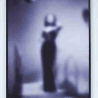 Carrie Mae Weems, Slow Fade to Black (Lena Horne), Inkjet print, Overall: 49 1/4 × 37 × 1 1/2in. (125.1 × 94 × 3.8cm), Courtesy of the artist, Carrie Mae Weems Studio, and the Delavan Center, Syracuse, New York