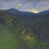 Deborah Squier, Graveyard Fields  Location:  Blue Ridge Parkway, Pastel, Overall: 26 1/2 × 26 1/2in. (67.3 × 67.3cm), Courtesy of the artist, Asheville, North Carolina