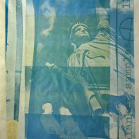 Robert Rauschenberg, Statue of Liberty, Overall: 39 1/4 x 28 3/4 x 1 1/2in. (99.7 x 73 x 3.8cm), Collection of Art in Embassies, Washington, D.C.; Gift of Evelyn Farland