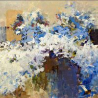 Carol Rubin, White Anthem, Oil on canvas, Overall: 40 × 30 in. (101.6 × 76.2 cm), Courtesy of the artist, Washington, D.C.