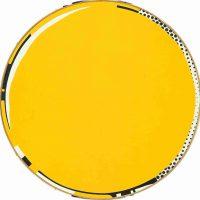 Roy Lichtenstein, Mirror, Overall: 24in. (61cm) diameter, Courtesy of Agnes Gund, New York, New York