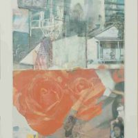 Robert Rauschenberg, Domicile, Silkscreen, 48 x 34 1/2 x 1 1/2 in.  (121.9 x 87.6 x 3.8 cm), Courtesy of the Foundation for Art and Preservation in Embassies, Washington, D.C.; Gift of the artist