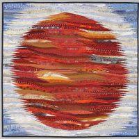 Ann Brauer, Pluto is a Planet, Quilt, Overall: 40 × 40in. (101.6 × 101.6cm), Courtesy of the artist, Shelburne Falls, Massachusetts