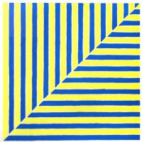 Frank Stella, Untitled (Rabat), Screenprint, 28 1/2 x 27 3/4 x 1 1/2 in. (72.4 x 70.5 x 3.8cm), Collection of Art in Embassies, Washington, D.C.; Gift of Mr. and Mrs. Philip Berman
