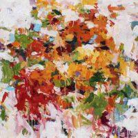 Karen Silve, Market 50, Acrylic on canvas, Overall: 60 × 48in. (152.4 × 121.9cm), Courtesy of the artist, Portland, Oregon