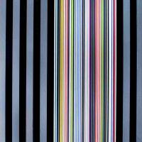 Gene Davis, Black Watch Series I, Silkscreen, Overall: 80 x 54 x 2 in. (203.2 x 137.2 x 5.1 cm), Collection of Art in Embassies, Washington, D.C.