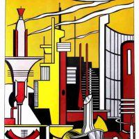 Roy Lichtenstein, This Must be the Place, Silkscreen, 31 1/2 x 25 3/4 x 1 1/2 in. (80 x 65.4 x 3.8 cm), Collection of Art in Embassies, Washington, D.C.; Gift of Mr. and Mrs. Philip Berman