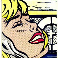 Roy Lichtenstein, Shipboard Girl, Offset lithograph, Overall: 36 1/2 x 28 1/2 x 1 1/2 in. (92.7 x 72.4 x 3.8 cm), Collection of Art in Embassies, Washington, D.C.; Gift of Mr. and Mrs. Philip Berman