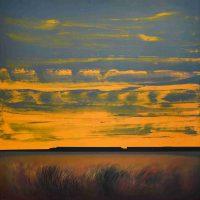 Dan Namingha, Hopi Dreamscape #1, Acrylic on Canvas, Overall: 60 × 64in. (152.4 × 162.6cm), Courtesy of the artist and Niman Fine Art, Santa Fe, New Mexico